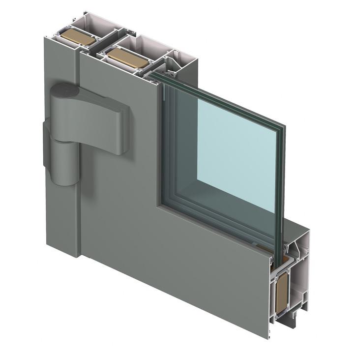cs77-fp ei130_door outward opening_3d_outside
